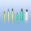 Hair lacquer plastic bottle