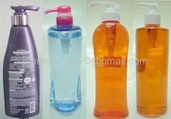 Body wash plastic bottle