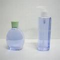 Bath foam plastic bottle
