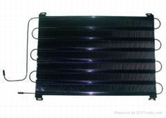 Refrigerator condenser/wire tube