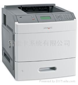 利盟T654dn B / W黑白激光打印機