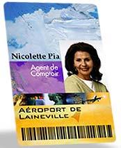 Mifare card and TI card