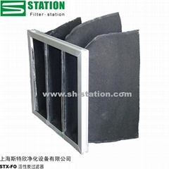 Activated carbon bag filter
