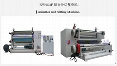 Laminator ,cutting and rewinding machine