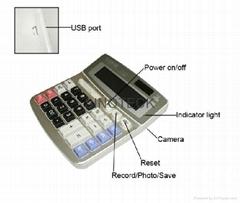 Spy Calculator 4GB DVR Camera Audio Video SPY Calculator 4GB