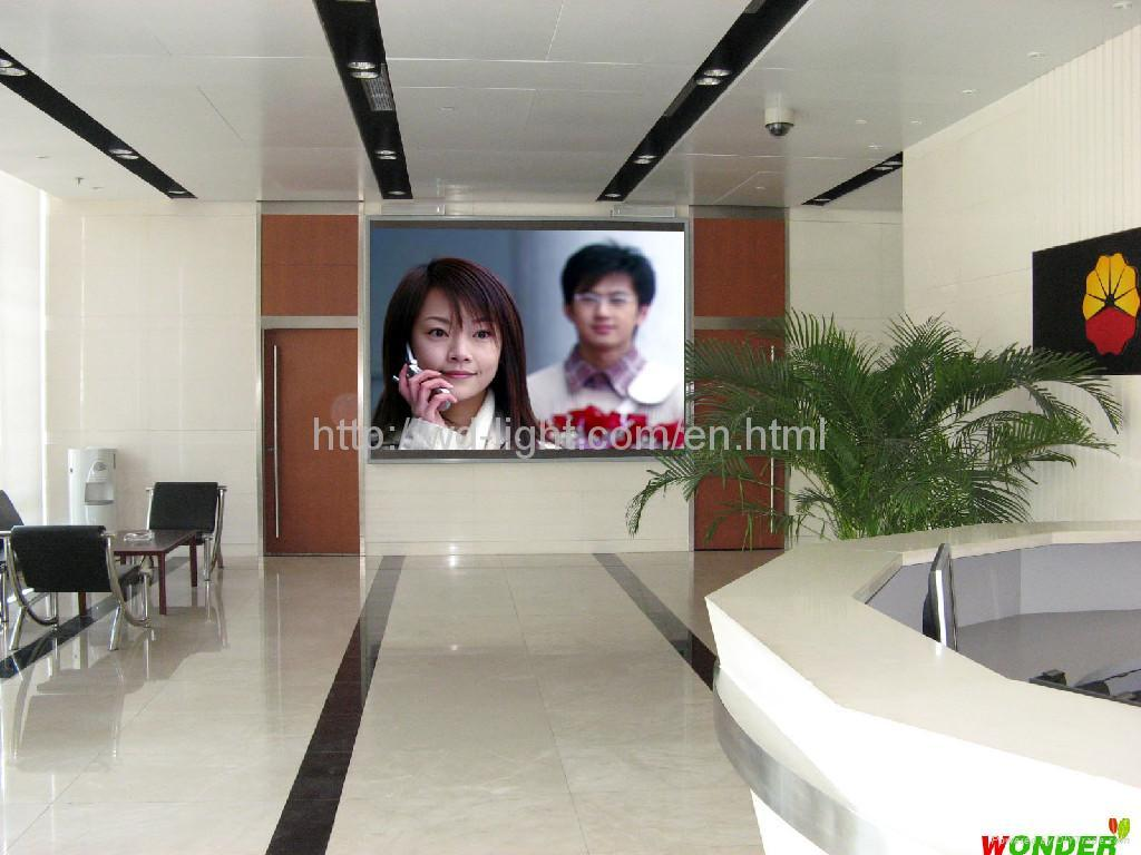 p7.62 indoor led display screen    2