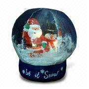 聖誕球表面披覆膠