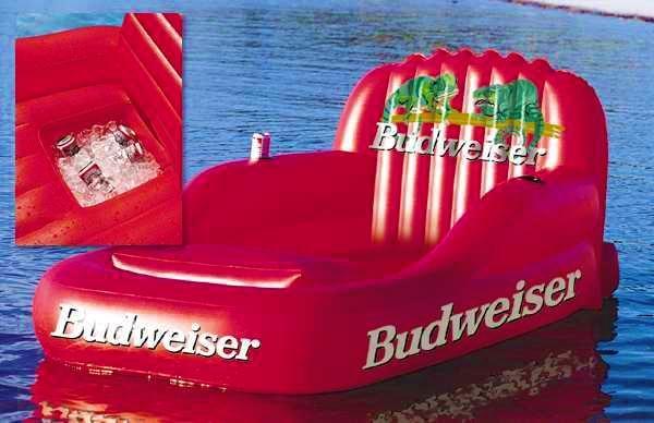 水上充气沙发床 2