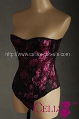 FREE Samples Sexy lingerie Underbust Corset Waist Cincher Waspie Plus Size