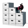 Steel Drawers Vertical Filing Cabinet