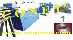steel wire straightening and cutting machinery