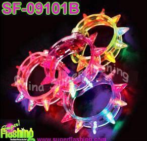 Flashing Spiky Bracelet 1