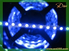 5050 60led/m  rgb flash 12V Flexible Strip for home and garden,car decoration