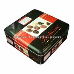 Metla tin chocolate box