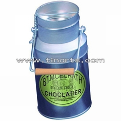 Milk tin can