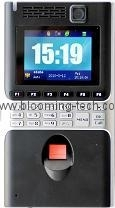 Fingerprint time attendance device with color camera and color LCD