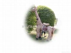 健身玩具长颈鹿