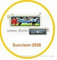 Sunvisor monitor DH-2008