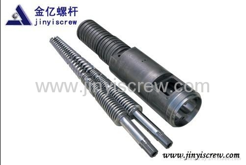 conical twin screw barrel 3