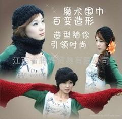 江西抚州魔术围巾全国销售2011年