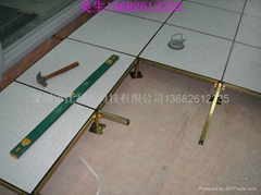 深圳全鋼防靜電架空地板