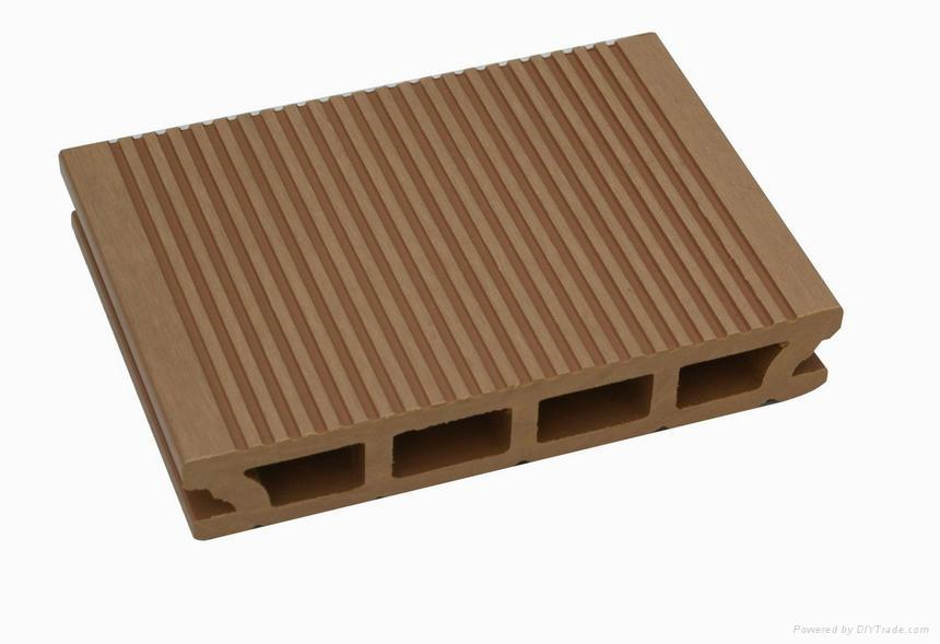Wood plastic composite decking k26 146 guofeng china for Plastic composite decking