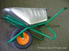 тачка  Тележки galvanized wheelbarrow