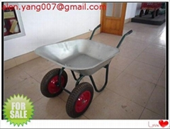 Double wheel barrow / Ru