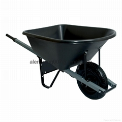 6 CU.FT Heavy duty seamless tray wheelbarrow