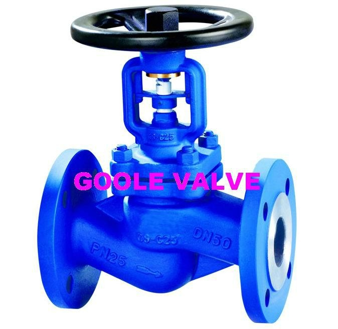 Bellow Sealed Globe Valve - WJ41H - Goole o
