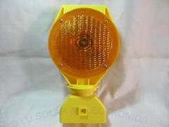 Traffic Warning Light Obstacle Indicated Light Yellow Color