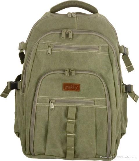 Canvas backpacks series 1