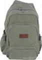 Canvas backpacks series