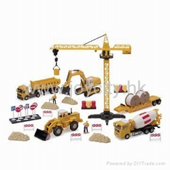 1:60 Scale die-cast model construction toy kit