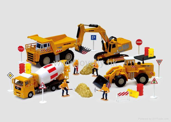 Construction Toys Product : Scale die cast model construction toy kit