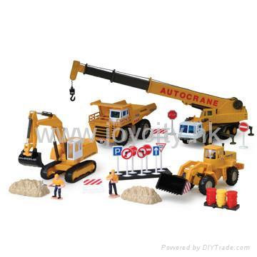 1:60 Scale die-cast model construction toy kit 3