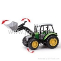 1:16 Scale die-cast model tractor