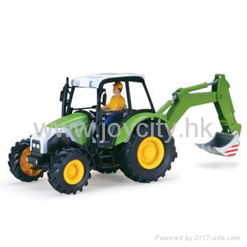 1:16 Scale die-cast model tractor collectables 2