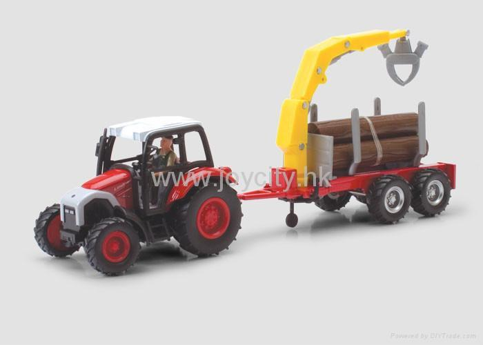 1:16 Scale die-cast model tractor collectables 4