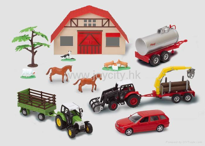 1:16 Scale die-cast model tractor collectables 5