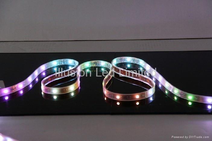 Waterproof LED pixel strip light 2