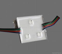 3-LED RGB Waterproof Aluminum Module(5060)