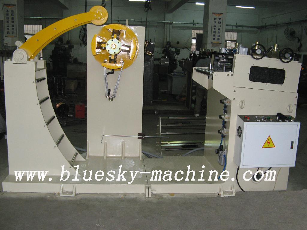 2 in 1 decoiler and straightener (China Manufacturer