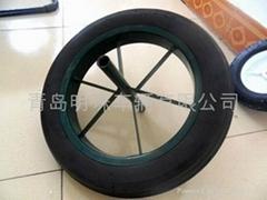 實心輪胎15x3,13x3