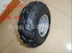无内胎轮胎145/70-6