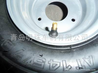无内胎轮胎145/70-6 3