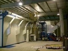 吉川自动气力回收式打砂房