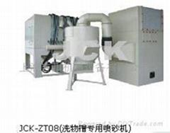 吉川洗物槽自动喷砂机