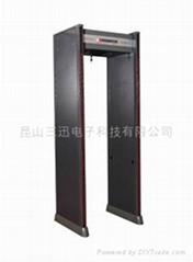 VTS-8208B室外防水型金屬探測門