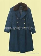 海军防寒军大衣